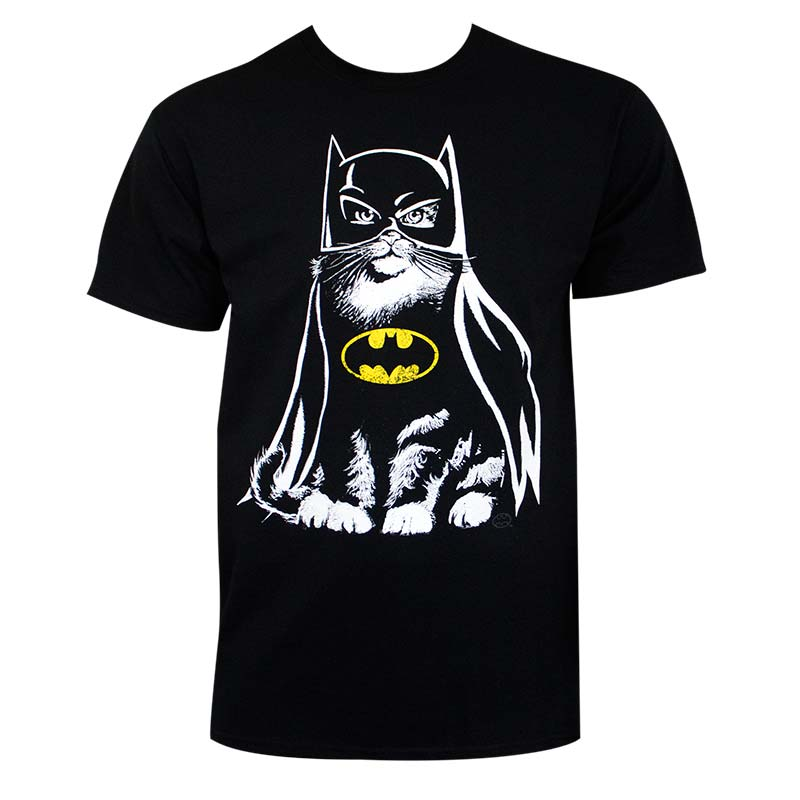 Batman Men's Black Catman T-Shirt