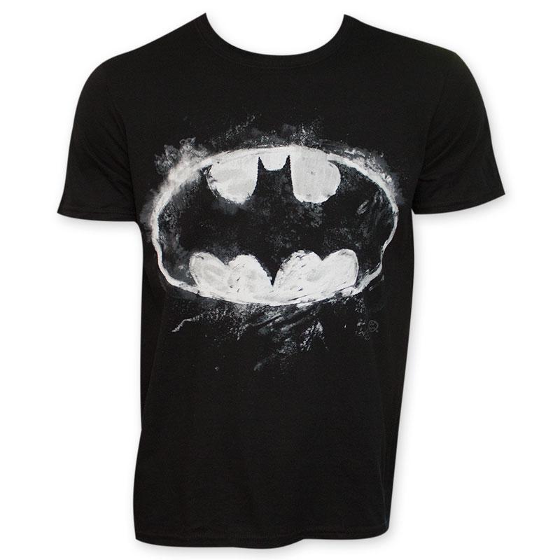 Batman Men's Black Chalk T-Shirt