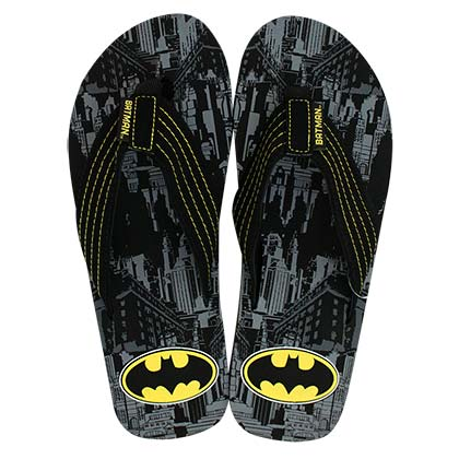 Batman Black Men's Sandals