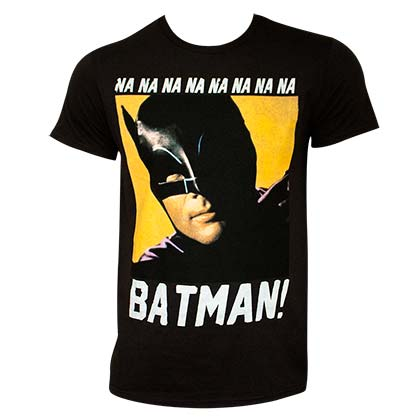 Batman Men's Black NANANA T-Shirt