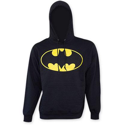 Batman Black Bat Logo Hoodie