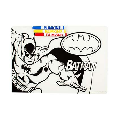 Batman Children's Silicone Coloring Mat