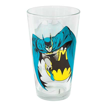 Batman Comic Pint Glass