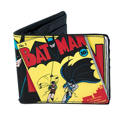 Batman 1st Edition Comic Bi-Fold Wallet
