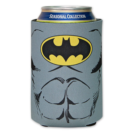 Batman Costume Can Koozie