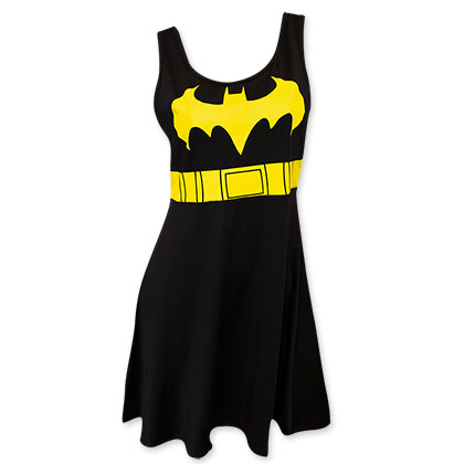 Batman Black Bat Logo Women's Costume Dress