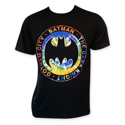 Batman Tie Dye Logo T-Shirt