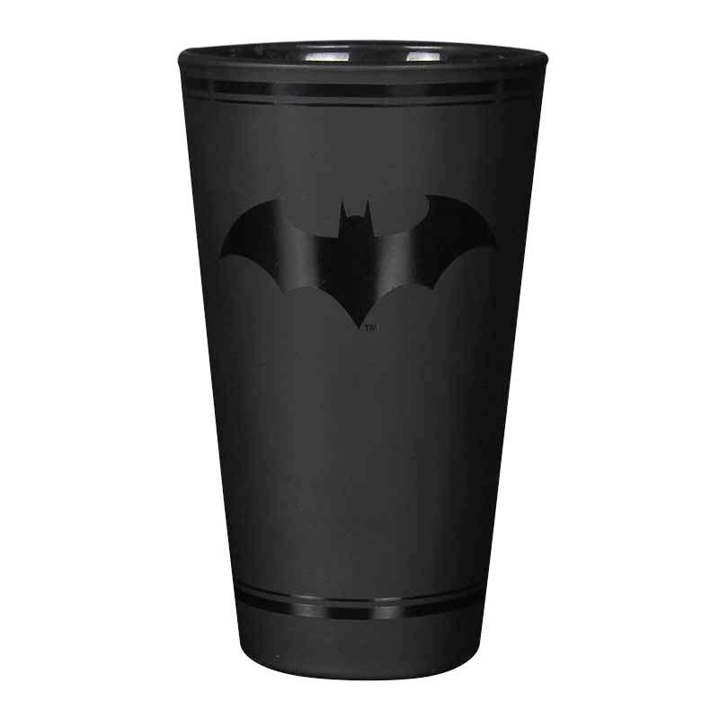 Batman Black Pint Glass