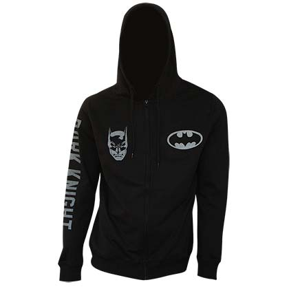 Batman Zip Up Dark Knight Hoodie