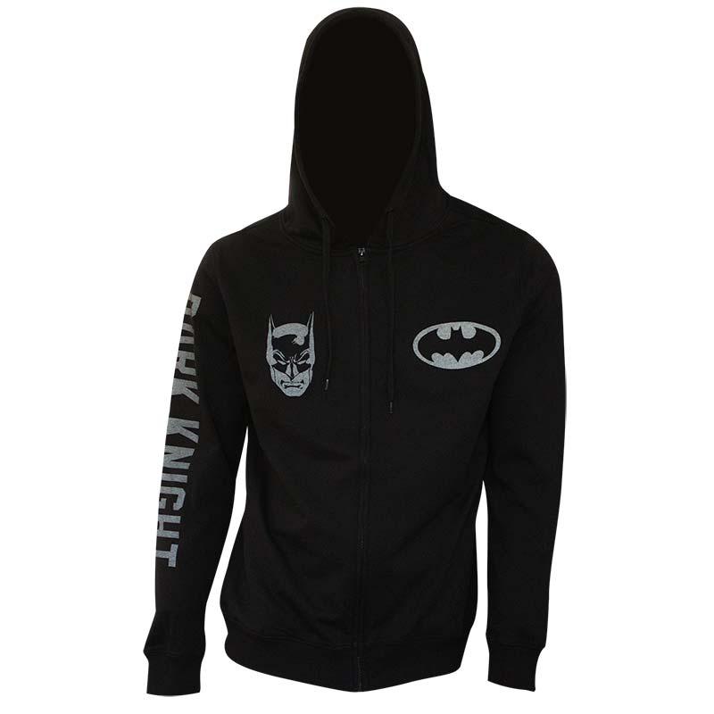 Batman Zip Up Dark Knight Hoodie