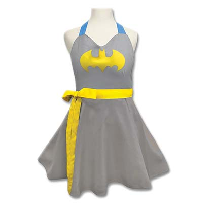 Batman Batgirl Ladies Costume Apron