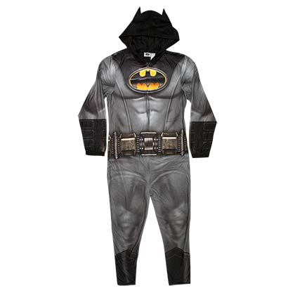 Batman Pajama Union Suit Men's Costume