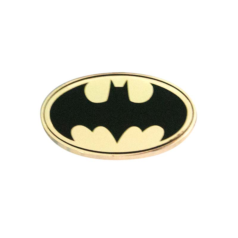 Batman Gold Lapel Pin