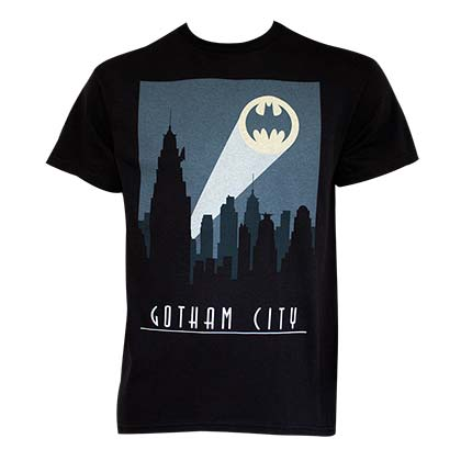Batman Art Deco Gotham City Tee Shirt