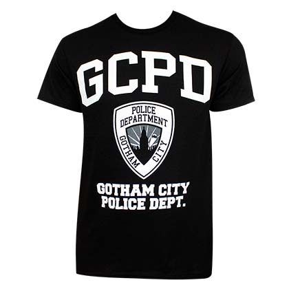 Batman Men's Black GCPD T-Shirt