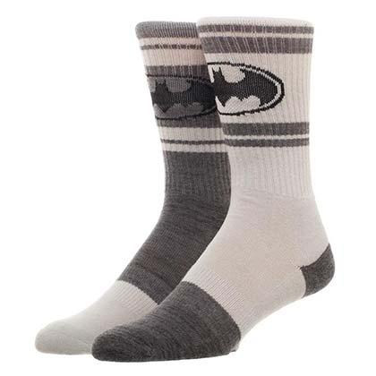 Batman Flipped Colors Men's Crew Socks
