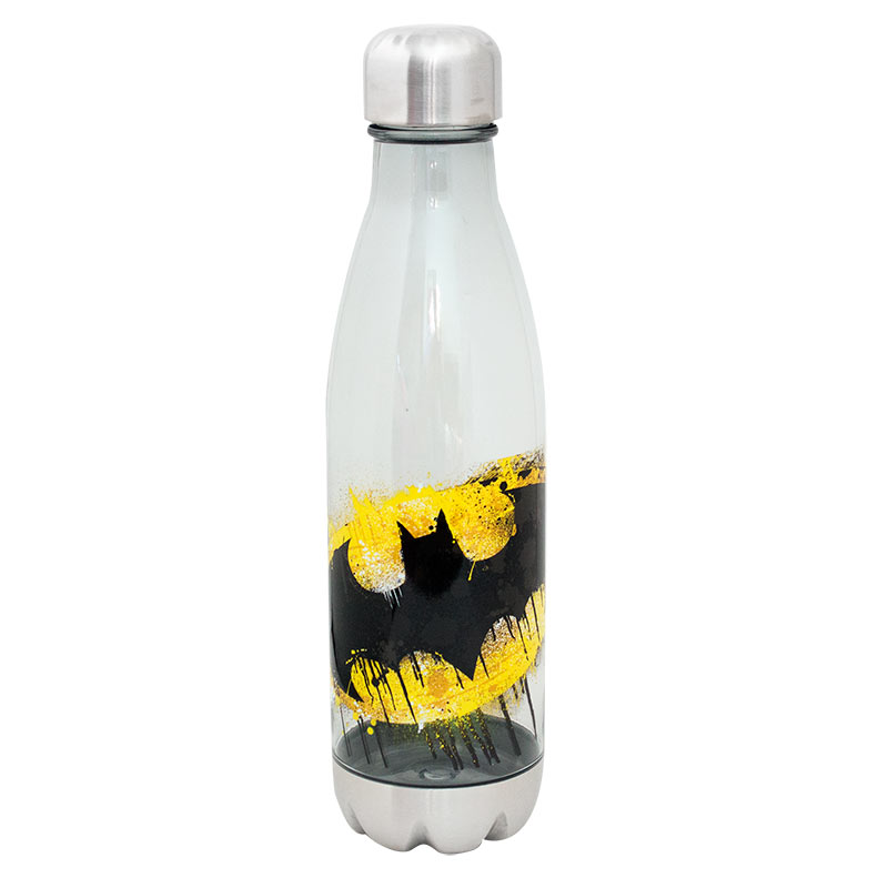 Batman Plastic 20 Oz Travel Water Bottle