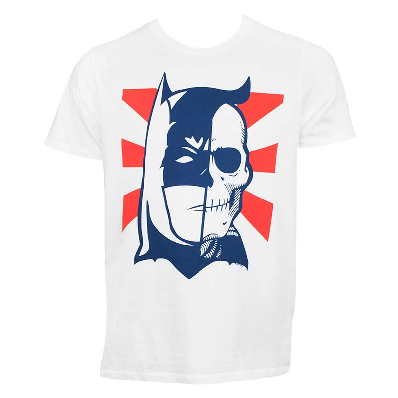 Batman Two Face Skull Tshirt