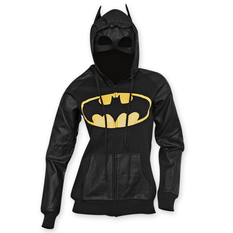 Batman Junior's Bat Mask Hoodie