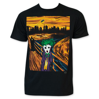 Batman Joker Scream T-Shirt