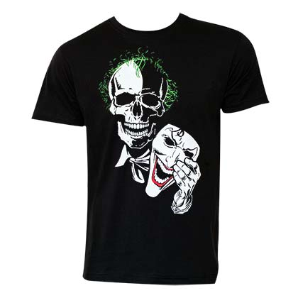 Joker Men's Black Mask T-Shirt