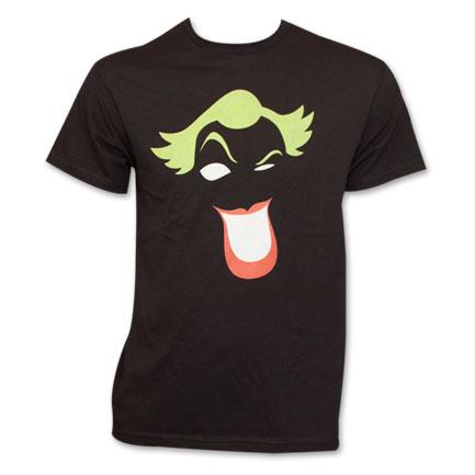 Joker Simplified Face T-Shirt - Black