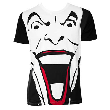 Batman Joker Men's Giant Face T-Shirt