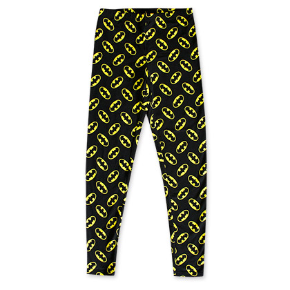 Batman Black And Yellow Bat Logo Women's Leggings