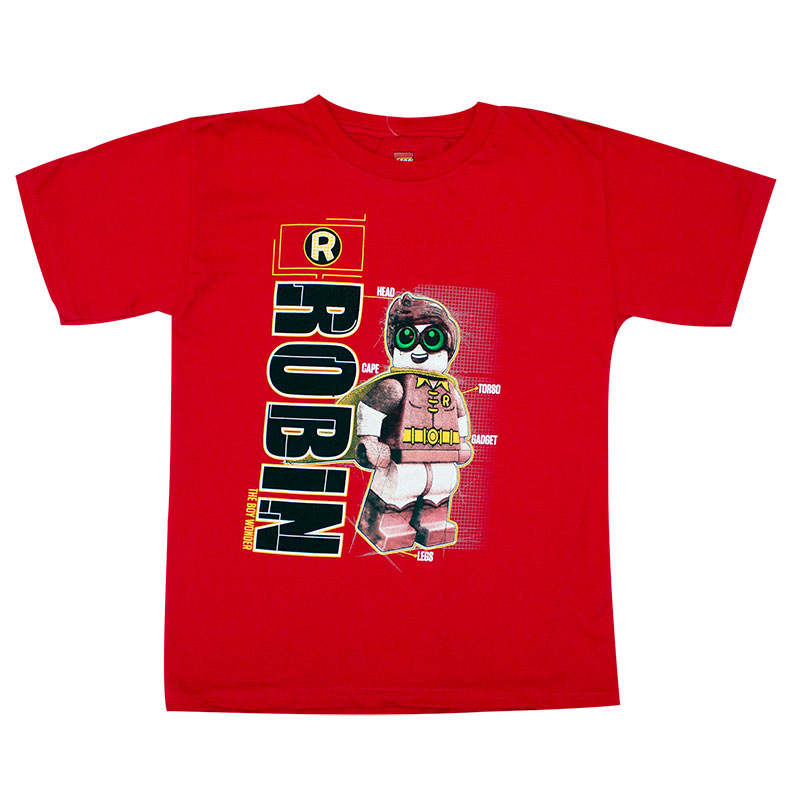 Batman Boy's LEGO Robin Tee Shirt