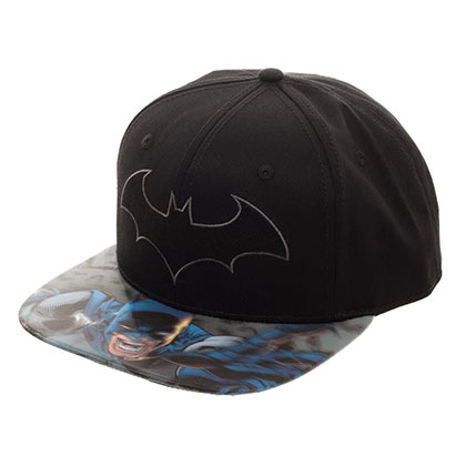 Batman Lenticular Bill Moving Image Hat