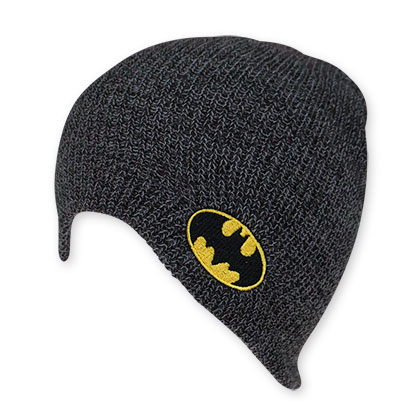 Batman Men's Gray Bat Signal Beanie