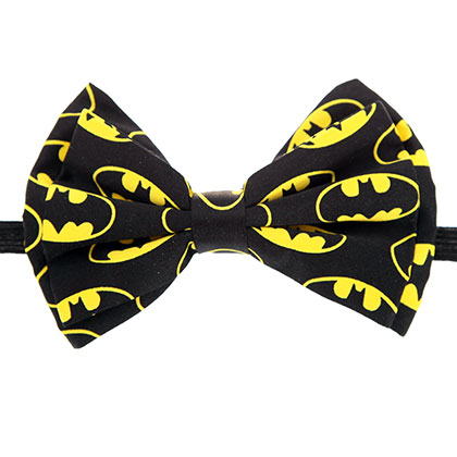 Batman Yellow And Black Bow Tie