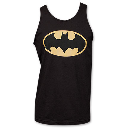 Batman Classic Logo Tank - Black