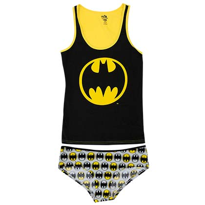 Batman Women's Tank And Underwear Set
