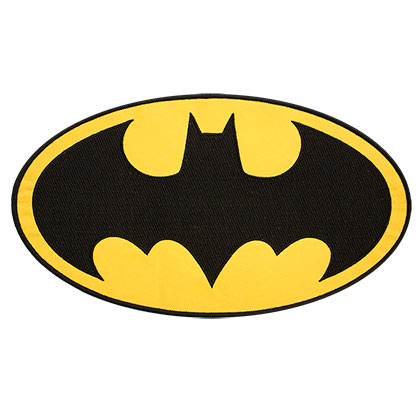 Batman 10 Inch Iron On Patch