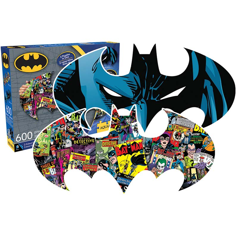Batman Comic Two-Sided Puzzle