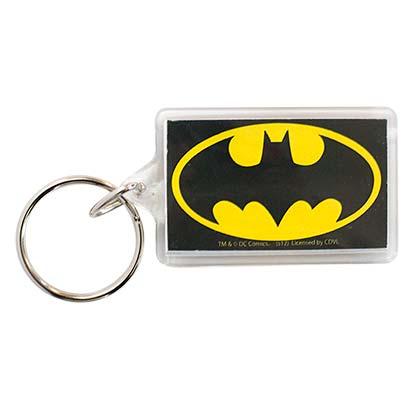 Batman Classic Emblem Lucite Keychain