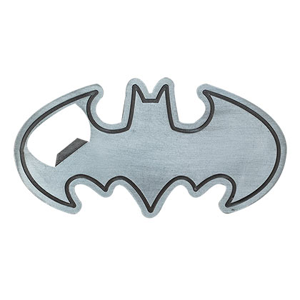 Batman Classic Logo Metal Bottle Opener