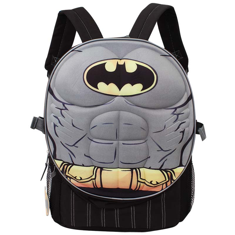 Batman Grey Classic Body Armor Backpack