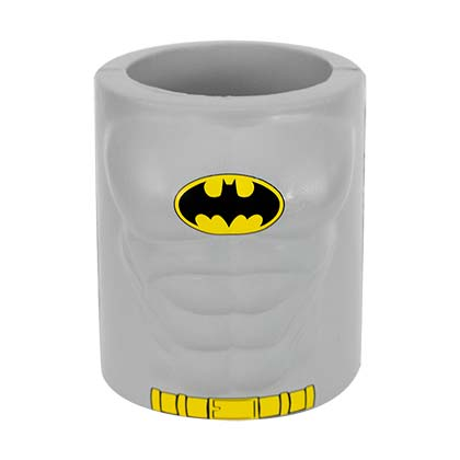 DC Comics Batman Foam Grey Can Cooler