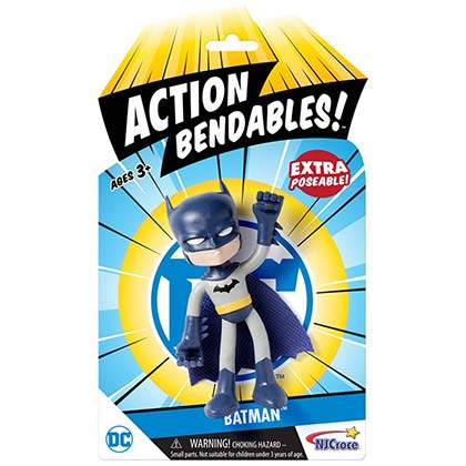 Batman Action Bendable Mini Toy Figure