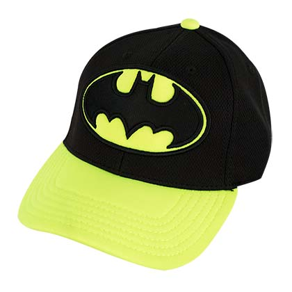 Batman Curved Bill Neon Hat