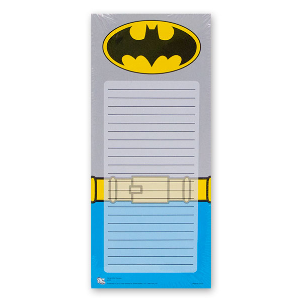 Batman Magnetic Notepad