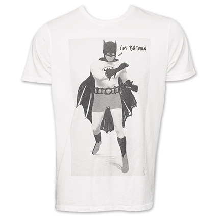 "Batman Junk Food Brand ""I'm Batman"" Tee"