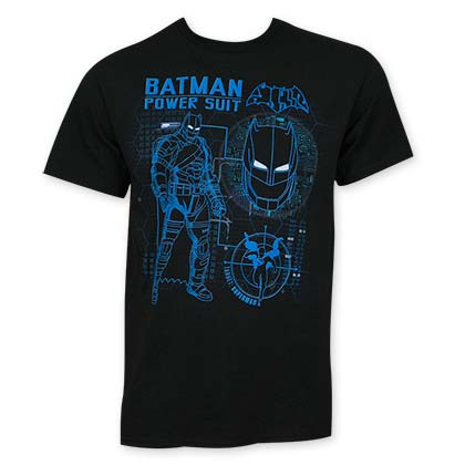 Batman V Superman Black Power Suit T-Shirt