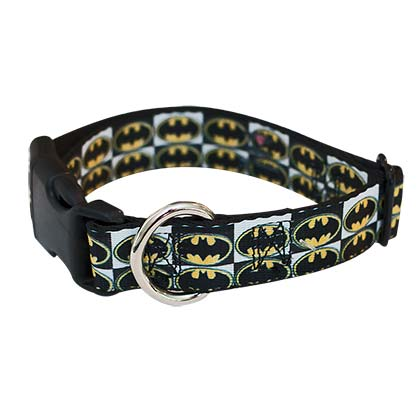 Batman Bat Signal Dog Collar