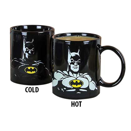 Batman Heat Reveal Color Changing Mug