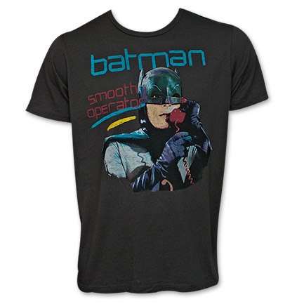 Batman Smooth Operator Junk Food Brand Shirt