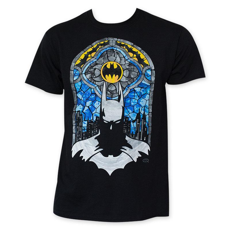 Batman Stained Glass Tee Shirt