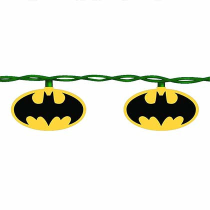 Batman Indoor String Lights